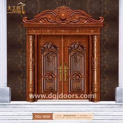 铸铝门-大工匠门业品牌有保证-高端铸铝门图片
