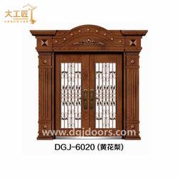精雕铸铝门、大工匠别墅门款式多样、铸铝门图片
