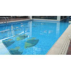 游泳池拼图厂家-游泳池拼图-柯翰艺术建材图片