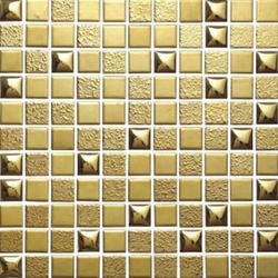 佛山柯翰马赛克|陶瓷电镀马赛克生产厂家|广东陶瓷电镀马赛克图片