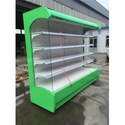 鑫琪厨业|阜康蔬菜风幕柜|蔬菜风幕柜定做图片