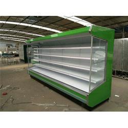 蔬菜风幕柜品牌,博乐蔬菜风幕柜,鑫琪厨业(查看)图片