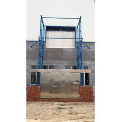 固定式升降货梯 厂房导轨式升降机图片
