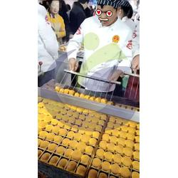 连锁加盟蜂蜜槽子糕机器-云南蜂蜜槽子糕机器-物美价廉现烤现卖图片