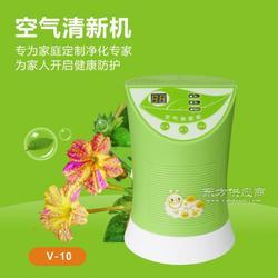 家用V-10空气净化器除甲醛负离子氧吧除异味清新机图片