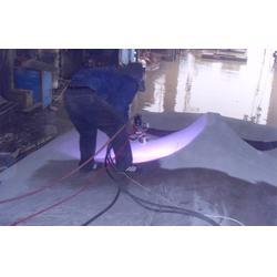 宁夏喷锌铝合金丝|高速喷锌铝合金丝|无锡华金喷涂防腐图片