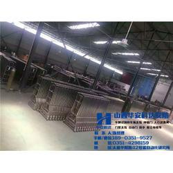 双轨电动伸缩门、太原华安科达、朔州电动伸缩门图片