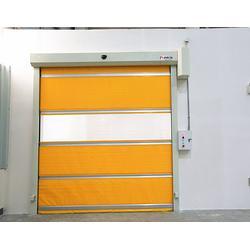 钢构厂房工业快速门PVC快速卷帘门图片