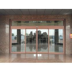 专业办公楼全玻璃自动感应门图片