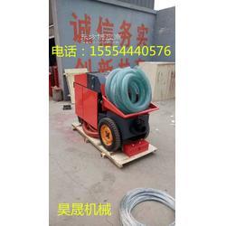 性能卓越的立式液压柱泵 混凝土输送泵二次构造柱上料机图片