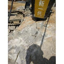 液压设备破石分解岩石劈裂机图片