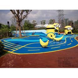 彩色地垫施工安装公司图片