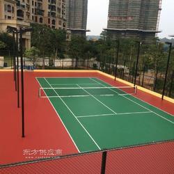 网球场设计施工安装塑胶运动场地施工单位图片