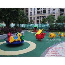儿童安全地垫材料厂家运动场地工程公司图片