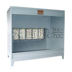 烟台滤芯式静电喷涂喷房-静电喷塑箱喷室-滤芯式静电喷涂喷房图片