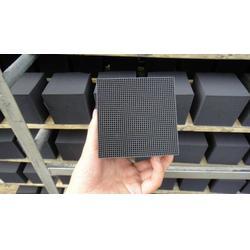 豫润海源蜂窝活性炭厂家 蜂窝活性炭滤料 耐水蜂窝活性炭图片