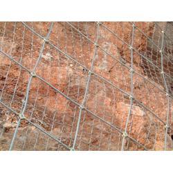 护坡挂网&护坡钢丝网&边坡防护网图片