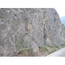 山体滑坡防护网&拦石网&边坡防护网图片