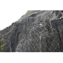 钢丝绳网&钢丝绳防护网&山体护坡网图片