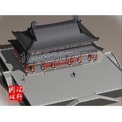 古建施工工程承揽、汇轩园林古建(在线咨询)、唐县古建施工图片