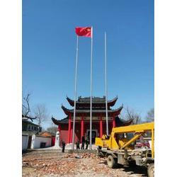 学校旗杆制作-安徽旗杆-龙旗(查看)图片