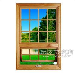 断桥铝木门窗实木门窗图片