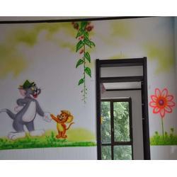 合肥墙体彩绘、合肥唯彩【墙体彩绘】、商场墙体彩绘图片