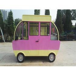 山西电动小吃车,余粮餐饮(优质商家),四轮电动小吃车加盟图片