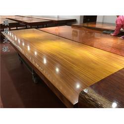 顺勇大板品质保证之选 实木大板茶桌-实木大板
