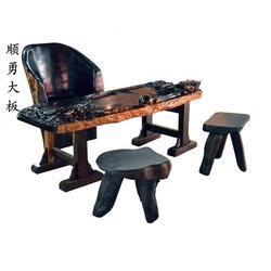实木大板-顺勇大板客户至上-实木大板定制图片