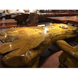 本溪实木大板-顺勇大板款式丰富-实木大板茶桌图片