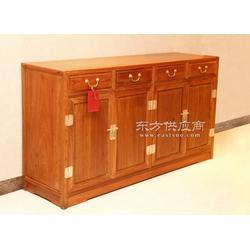 紫檀花梨木茶水柜 储物柜中式实木收纳柜图片