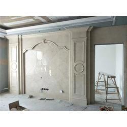 石材背景墙安装方法-石材背景墙-太原天辰石材经销部图片