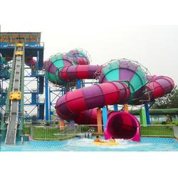 安顺大型滑梯_大浪制造_多变水上乐园滑大型滑梯图片