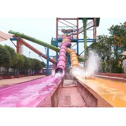 水上滑梯制造-大浪设备-水上滑梯图片