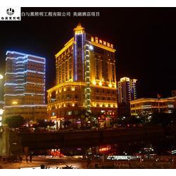 广场照明设计标准_白与黑照明工程_广场照明图片