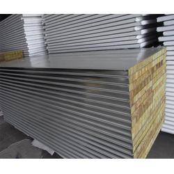 防火岩棉彩钢板厂家-北京防火岩棉彩钢板-华峰(查看)图片