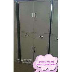 四门凭证柜 铁皮资料柜厂家供应 四门铁皮柜 文件柜图片