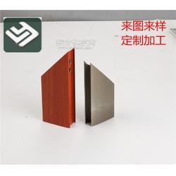 门窗配件铝型材加工厂家 亮银铝制品让你选择无忧图片