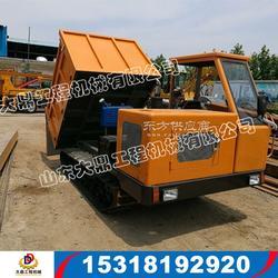 多功能履带翻斗车复杂地形履带运输车履带式坡地运输车图片
