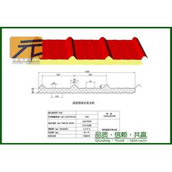保温岩棉夹芯板,元盛新型建材集团,阐述岩棉夹芯板图片
