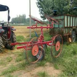 现货直销弹齿指盘式搂草机 农用液压搂草机图片