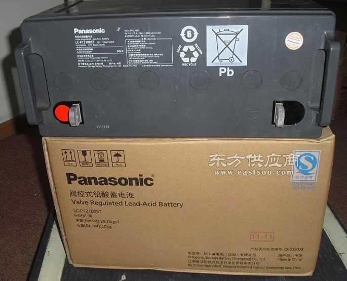原装松下蓄电池12V24AH型号LC-P1224现货销售图片