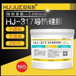 导热2.0导热硅脂首选汇巨胶粘知名电子胶品牌为18000家大小企业提供电子胶方案图片