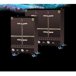 濟南不銹鋼蒸飯柜-伊德欣蒸飯車生產-不銹鋼蒸飯柜報價圖片