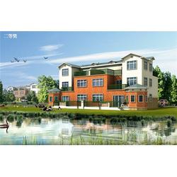 轻钢别墅结构-欧巢(在线咨询)轻钢别墅图片
