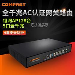 COMFASTCF-AC100 企业工程专用多WAN口全千兆网关路由器RippleOS广告工控主机图片