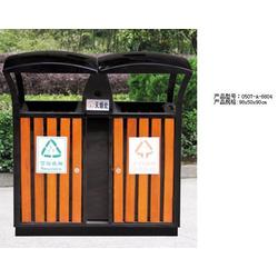 钢木垃圾桶报价_烟台垃圾桶_康利环卫塑料制品图片
