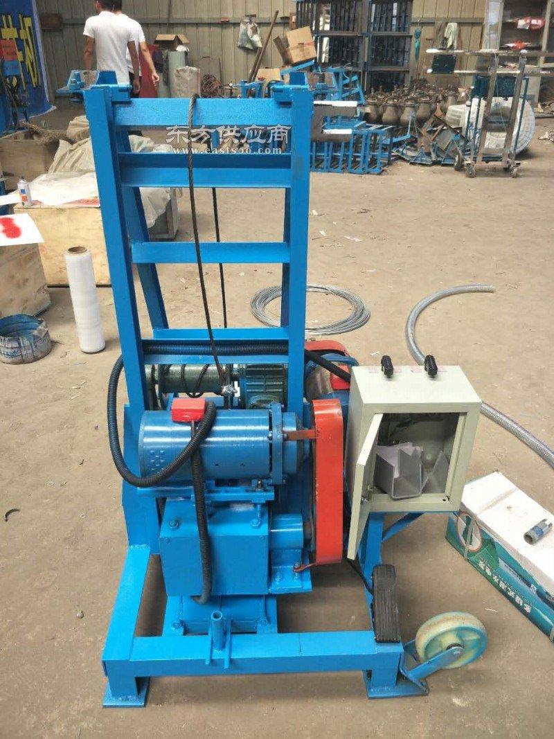 销量好的液压打包机报价 省时省力的液压打井机图片