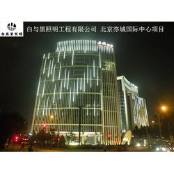 白与黑照明工程(多图),广场景观照明,夜景照明图片